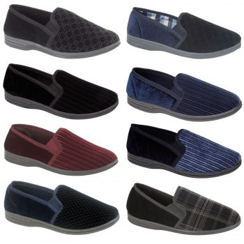 MEN'S SLIP ON SLIPPERS