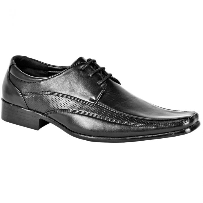 Men Formal Shoes Black D4846