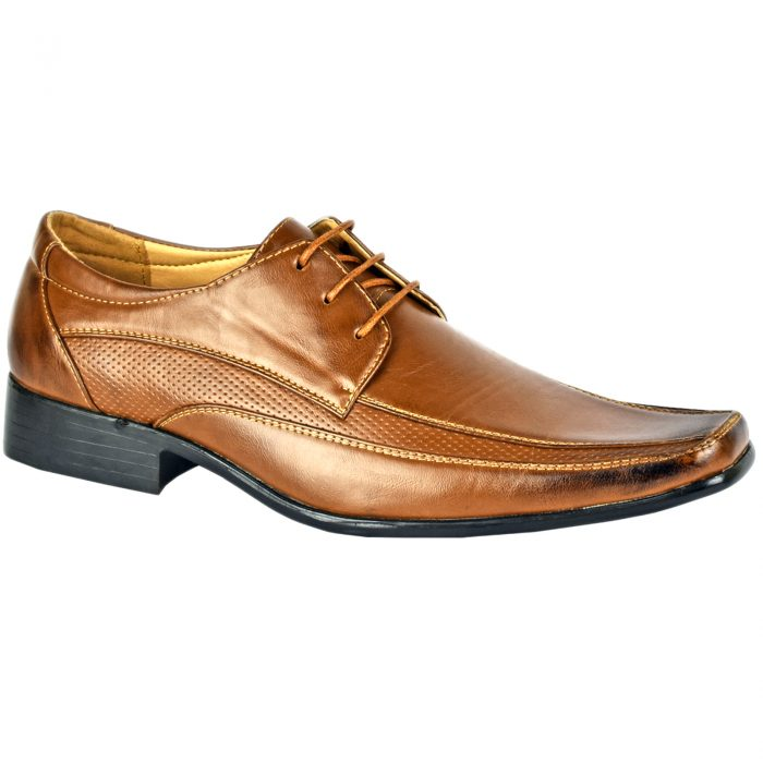 Men Formal Shoes Tan D4846