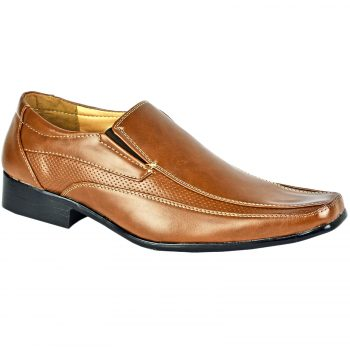 Men Formal Shoes Tan D4851