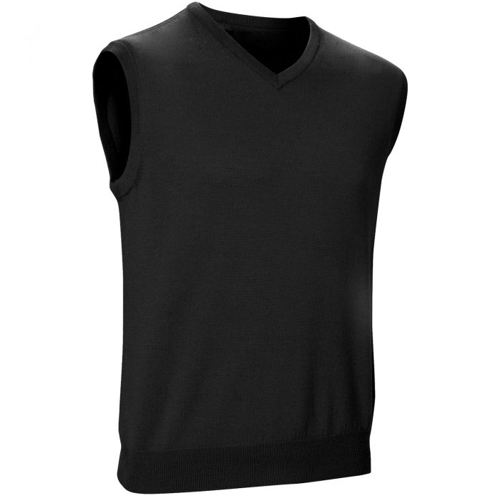 Mens Sleeveless Jumpers grey