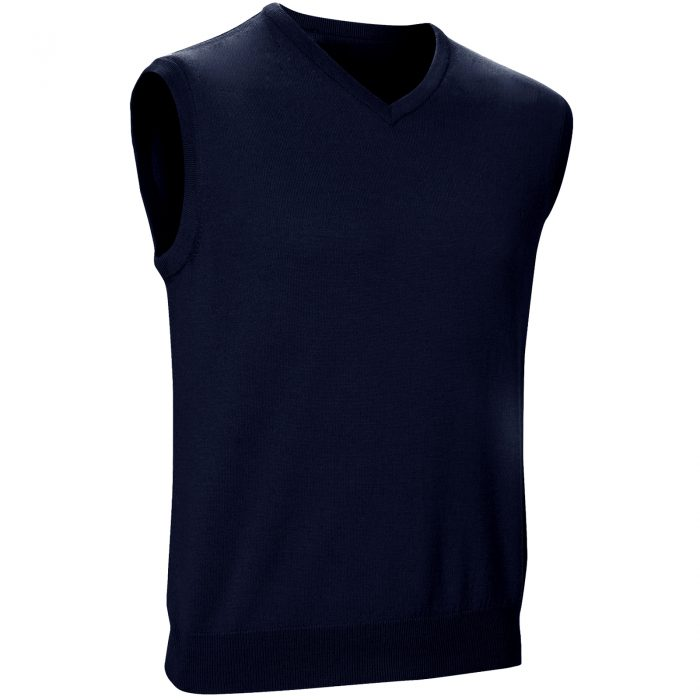 Mens Sleeveless Jumpers navy