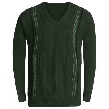 Mens Long Sleeve Jumpers Green
