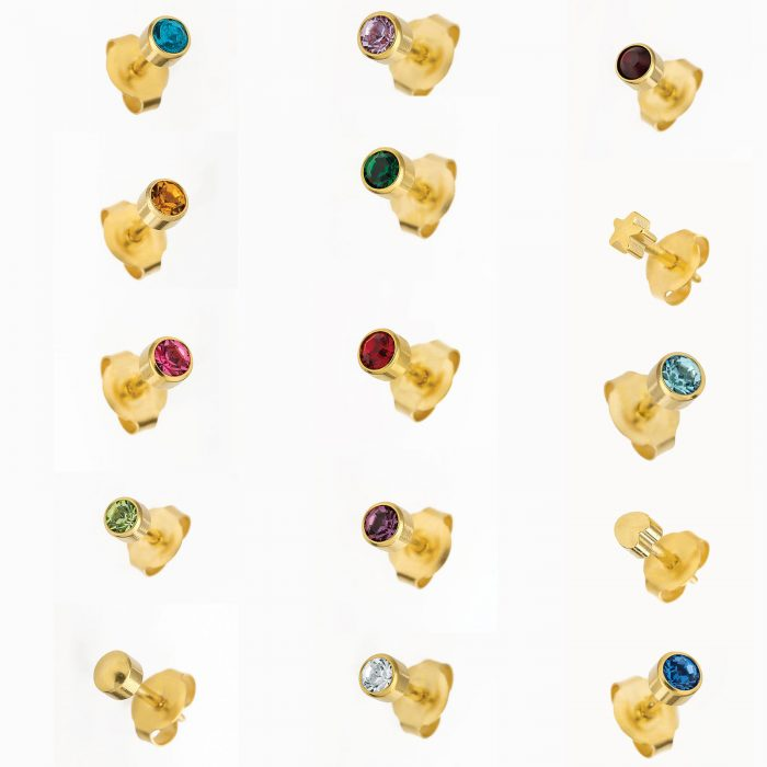 BRAND NEW EAR PIERCING STUDS EARRINGS STUD