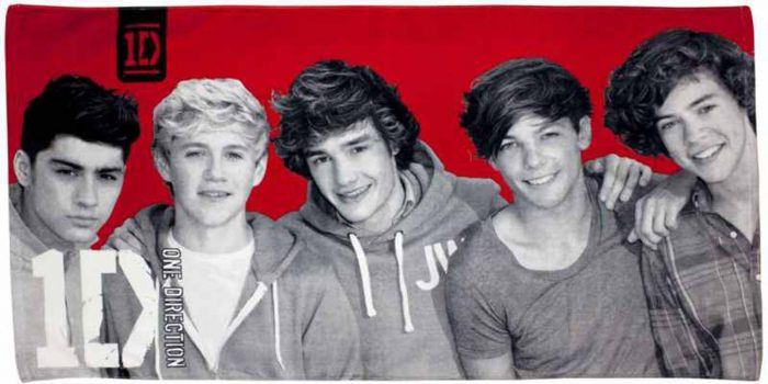 One Direction Heartthrob Towel