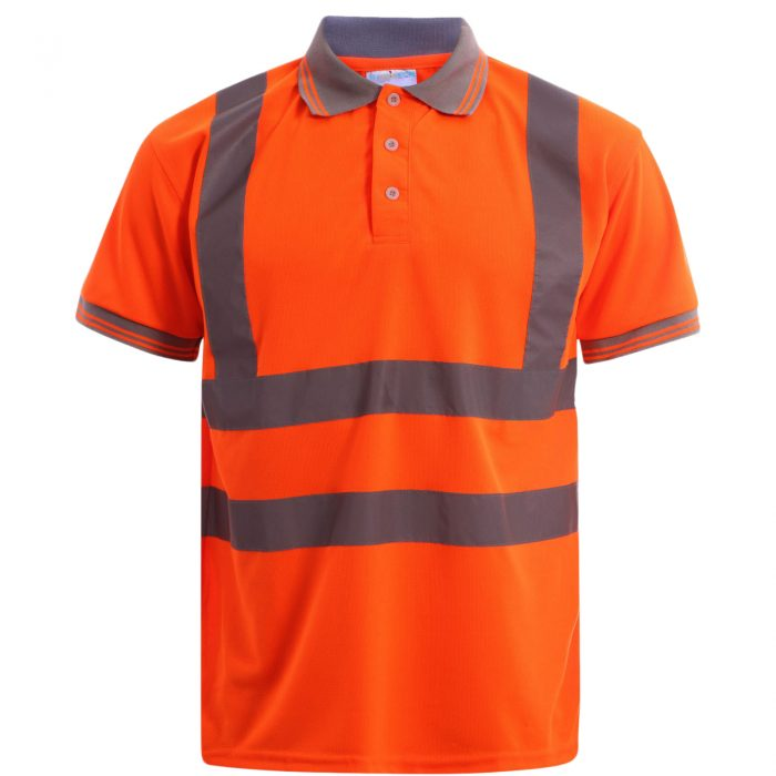 Polo Shirts orange short sleeve amazon