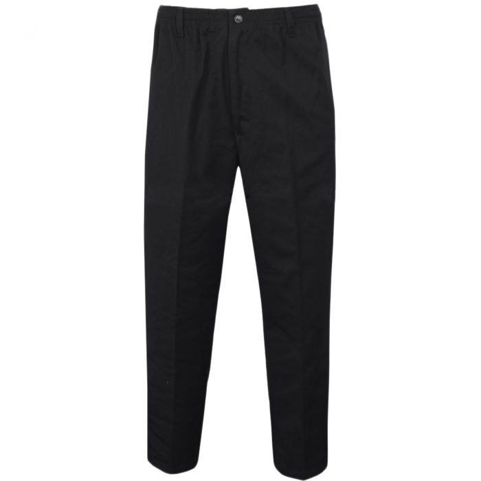 Rugby mens trousers black 1