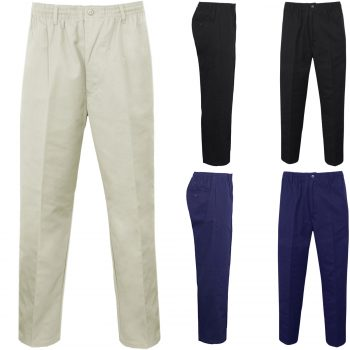 MEN'S RUGBY ELASTICATED WAIST TROUSERS