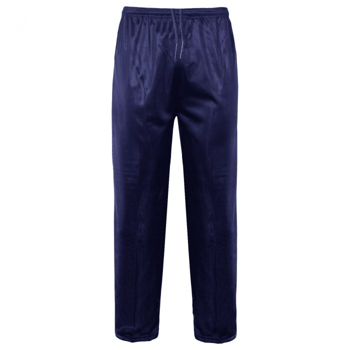 MENS TRACKSUIT BOTTOMS SILKY JOGGERS JOGGING-Bottom Silky Navy