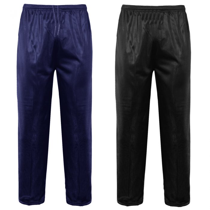 MENS TRACKSUIT BOTTOMS SILKY JOGGERS JOGGING-Silky-PLAIN-Bottom