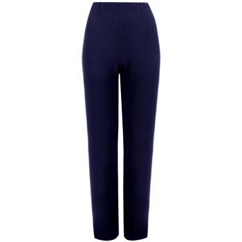 Straight Leg Trouser Navy 1