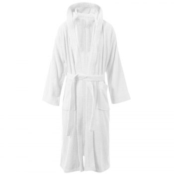 Terry Bath Robe White