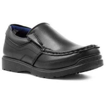 US BRASS BRONX SLIP ON BOYS' SHOES