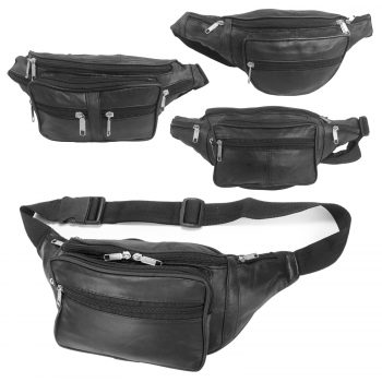 REAL LEATHER TRAVEL WAIST BUMBAG