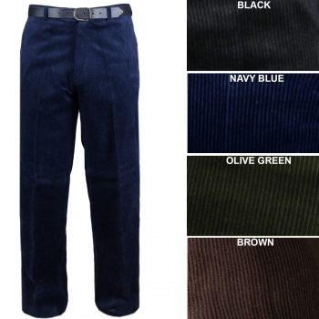 NEW MEN'S CORDUROY TROUSERS
