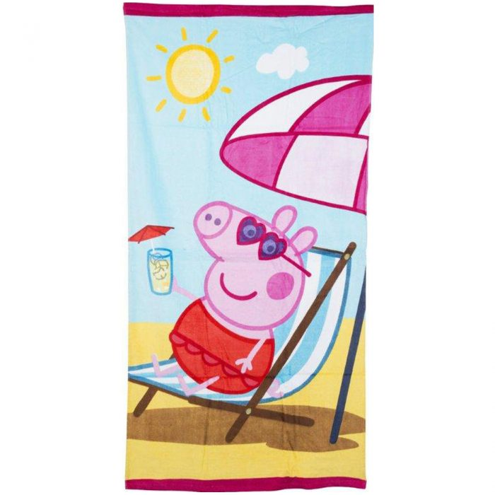 CHILDRENS DISNEY TOWEL-deck chair