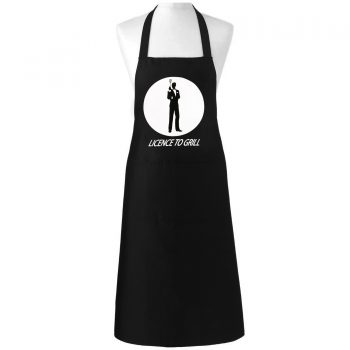 Licence To Grill James Bond 007 Novelty Apron