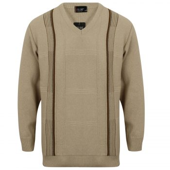 Men Strive Jumper Beige2