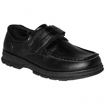 BOYS SCHOOL VELCRO 1 BAR BOOTS