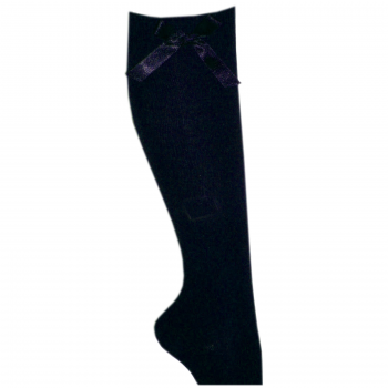 Socks Myshoestore Bow Navy