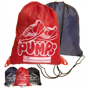 NEW DRAWSTRING PE PUMPS BAG