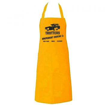 TROTTERS YELLOW NOVELTY APRONS