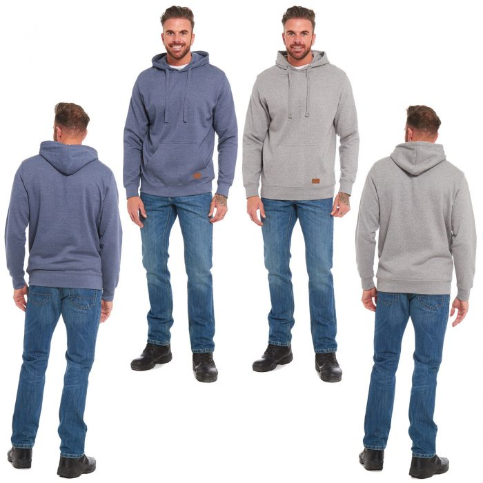 NEW MEN'S PULL OVER HOODY 1