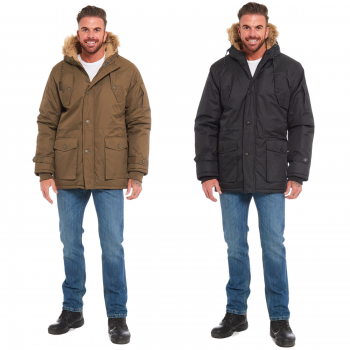 MENS PARKA HOODED OSCAR JACKET
